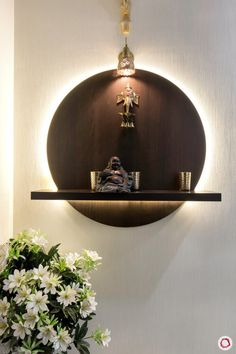 Mandir Design Inspiration: Wall-mounted Ideas for your Home