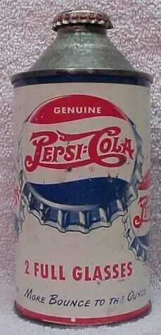 Pepsi Cola hits the spot. Two full glasses, that's a lot. Clock Vintage, Vintage Tins, Coca Cola, Old Bottles, Vintage Bottles, Mountain Dew, Ginger Ale, Retro Ads, Vintage Advertisements