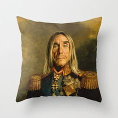 Buy Iggy Pop - replaceface by Replaceface as a high quality Throw Pillow. Worldwide shipping available at Society6.com. Just one of millions of products…