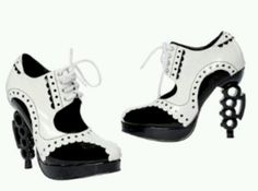 Mafia Brass Knuckle Shoes