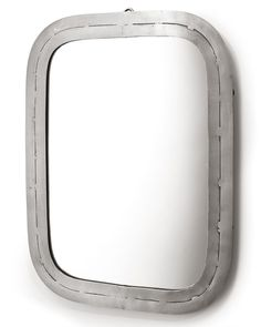 A medium-sized rectangular metal framed wall mirror in a silver finish. A quirky contemporary wall mirror for hallways, living rooms, bedrooms and bathrooms. Industrial Mirrors, Industrial Metal, Industrial Style, Decorative Mirrors, Contemporary Wall Mirrors, Framed Wall, Silver, Modern Wall Mirrors, Money