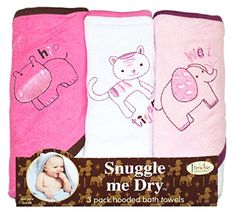 Wild Animal Hooded Bath Towel Set, 3 Pack, Girl, Frenchie Mini Couture has been published on http://www.discounted-baby-apparel.com/2013/10/12/wild-animal-hooded-bath-towel-set-3-pack-girl-frenchie-mini-couture/