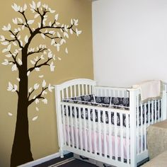 Love this wall tree decal.... wonder if it could be painted instead