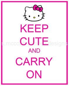 hello kitty quotes - Google Search