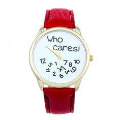 La montre tendance 2016. Superbe montre, unique en son genre. Mouvement à trois aiguilles.  Un jolie montre qui sublimera vos poignets en un clin d'oeil!!!  La montre parfaite pour offrir!  Emballage cadeau offert!