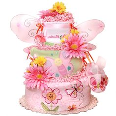 butterfly baby shower cakes | Google Image Result for images.diapercake...