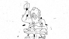 Animierte Gedankenexperimente    Kunde: SRF Sternstunde Philosophie  Animation: Nino Christen  Sounddesign: Martin Bezzola Animation, Bart Simpson, Christening, Filmmaking, Closer, Snoopy, Fictional Characters, Philosophy, Cinema