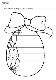 Easter Finish The Pattern Worksheet from Printable Worksheet For Kids category. Find out more cool coloring pages for your child Easter Worksheets, Easter Activities, Activities For Kids, Color Activities, Activity Ideas, Easter Coloring Pages, Colouring Pages, Coloring Pages For Kids, Free Coloring