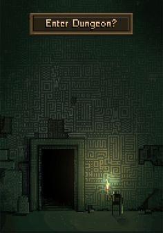 """Dungeons are Creepy!"" by /u/Metkis Game Inspiration, Design, Art Design, Game Art, Pixel Art Games, Art Background, Game Design, Aesthetic Art, Cool Pixel Art"