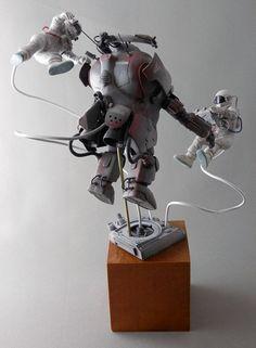 Maschinen Krieger ZbV3000 : Original Powered Suit #Gravity004