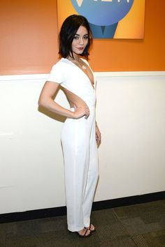 Vanessa Hudgens | total white outfit | celebrity style inspiration