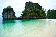 Beautiful Beach at Andaman sea Krabi,Thailand