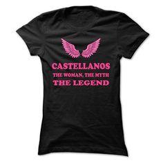 CASTELLANOS, the woman, the myth, the legend - #graduation gift #hostess gift. ADD TO CART => https://www.sunfrog.com/Names/CASTELLANOS-the-woman-the-myth-the-legend-fdybnspkhf-Ladies.html?68278