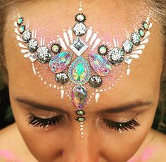 Festival jewel makeup