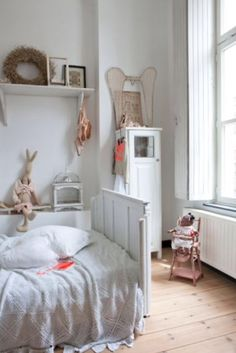 "This sweet girls room is from our feature ""Magical Moments"""