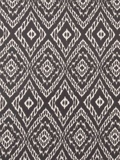 Grey Ikat Upholstery Fabric - have this (or similar) made into slipcover?