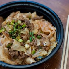 Spicy Cumin Lamb Noodles at Xi'an Famous Foods | 17 Foods That Make Living In NYC Worth It