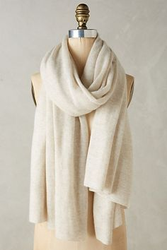 Cashmere Travel Wrap #anthropologie  In Turquoise.