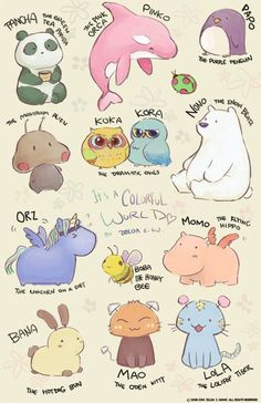 Discover ideas about cute animal drawings Kawaii Doodles, Kawaii Chibi, Cute Doodles, Cute Animal Drawings Kawaii, Cute Little Drawings, Cute Drawings, Cartoon Drawing Tutorial, Cartoon Drawings, Cute Animal Memes