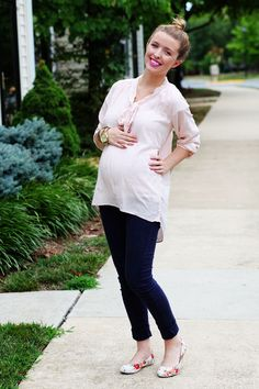 Sydney of TheDaybook. Shoes: c/o Blowfish, Pants: H&M, Top: F21, Watch: Gift.