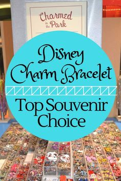 There are a ton of souvenirs to choose from, but one of my favorites is Disney charm bracelets. via @disneyinsider