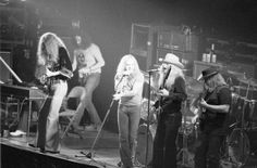 At Cow Palace on November 20, 1973 when L.S. opened for The Who.