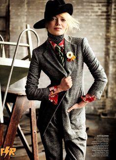 Emma Stone, Vogue USA (July 2012)