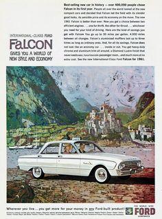 1961 Ford Falcon advertisement