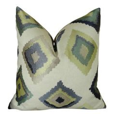 Plutus Native Trail Dew Handmade Throw Pillow, Double Sided, Multicolor