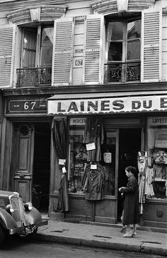 Paris 1955  Photo: Inge Morath