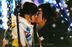 Geum Jandi (Koo Hye Sun) & Gu Jin Pyo (Lee Min Ho) in Boys Before Flowers - a fiery couple
