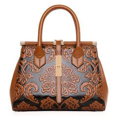High-quality Elegant National Style Flower Pattern Shoulder Bags Crossbody Bags For Women - NewChic Mobile