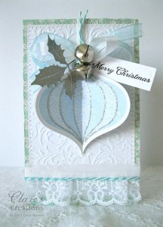 Frosty Ornament christmas card