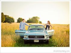 1967 Mustang Engagement Pictures | Classic Vintage Styled | CT Modern Photojournalistic Style Photographer