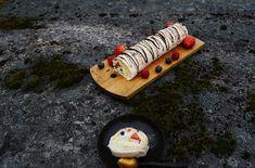 Miss Dahls baked love: Marengs rullekake Dahl, Triangle, Baking, Bakken, Backen, Sweets, Pastries, Roast