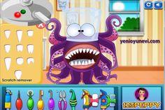 4 canavarın dişlerini sıra ile tedavi edeceğimiz oyunun tanıtım videosu. Videoda sadece 1 canavar üzerinde işlem yapılmıştır. Oyun Linki: http://www.yenioyunevi.com/canavar-dis-doktoru.html