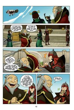 Avatar: The Last Airbender: The Search | Part One | Page 42 <- Firelord Uncle Iroh! This is the greatest thing EVER!