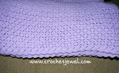 baby blanket pattern, http://crochetjewel.com/?p=3808
