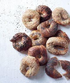 Plain bagels recipe. Beaten, boiled and baked, these bagels are at their best when made over two days