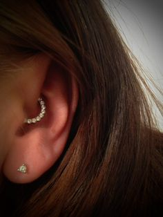 Daith piercing, Industrial stength, Odyssey clicker, Larypiercing