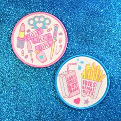 Pair of Girl Gang Patches by JadeBoylan on Etsy