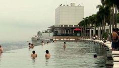 Marina Bay Sands Skypark BASE Jump, Singapore 2012 ( VIDEO)