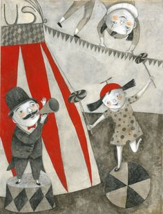 alessandra vitelli illustratrice: circus melere'