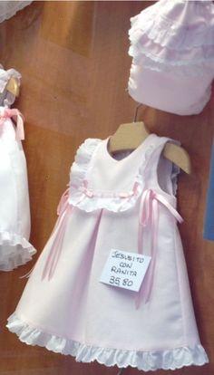 Cute Little Girl Dresses, Little Girl Outfits, Baby Girl Dresses, Baby Dress, Kids Outfits, Moda Kids, Kids Dress Wear, Kids Dress Patterns, Baby Frocks Designs