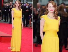 Emma Stone In Atelier Versace - 'The Amazing Spider-Man 2 Rise of Electro' World Premiere - Red Carpet Fashion Awards Atelier Versace, Star Fashion, Fashion Beauty, Girl Fashion, Emma Stone, Celebrity Outfits, Celebrity Style, Celebrity News, Celebrity Red Carpet