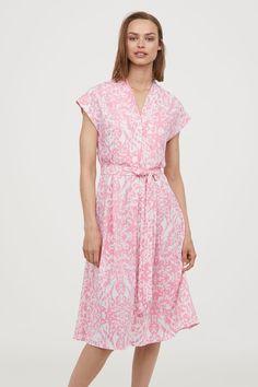 Patterned dress - Pink/Patterned - Ladies | H&M 1