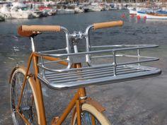 Conversion vélo porteur by @Bicycle Corner #fixedgear #fixie #bicycle #trackbike #Nice06 #singlespeed #pignon fixe #bicyclette #vélo #roue libre #conversion #porter bike #bicyclecorner