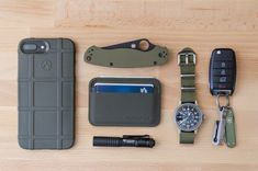 Olive Drab (OD) Green - Everyday Carry