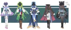 Outfit Adoption #5 OTA AB ADDED! CLOSED by Forged-Artifacts on DeviantArt