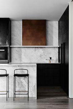 Ideas For House Interior Design Kitchen Marbles Interior Modern, Interior Design Kitchen, Interior Architecture, Kitchen Designs, Marble Interior, Interior Design Magazine, Kitchen Trends, Kitchen Ideas, New Kitchen